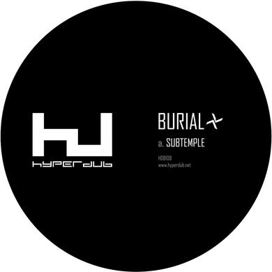 "Burial 'Subtemple / Beachfires' Vinyl 10"" Vinyl Record"