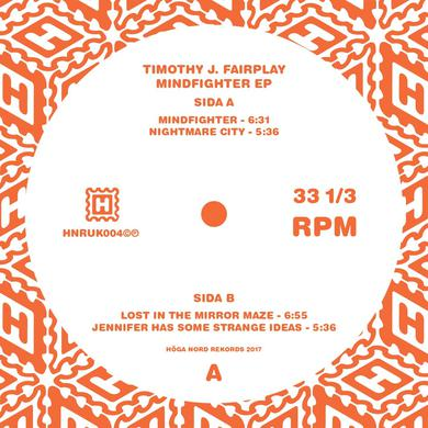 Timothy J. Fairplay 'Mindfighter EP' Vinyl Record