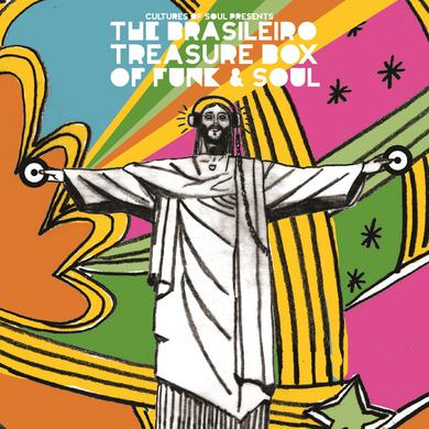 Various Artists 'The Brasileiro Treasure Box Of Funk And Soul' Vinyl Record