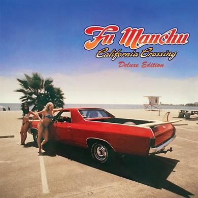 Fu Manchu 'California Crossing' Vinyl 3xLP Yellow/Blue/Red Vinyl Record