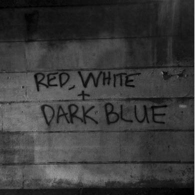 Dark Blue 'Red / White' Vinyl Record