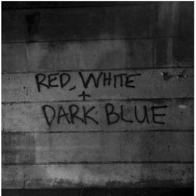 Dark Blue 'Red / White' Vinyl Record