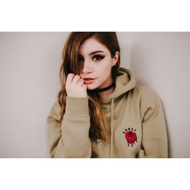 Against The Current Rose Hoodie