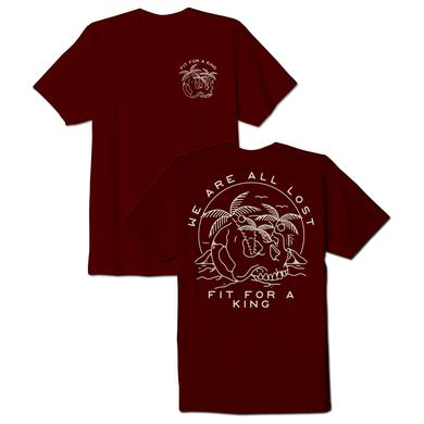 FIT FOR A KING FFAK - We Are All Lost Tee