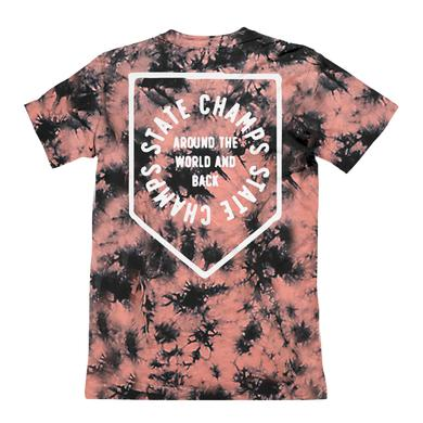 State Champs SC - Around The World Dyed Badge Tee