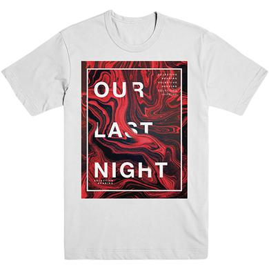 Our Last Night OLN - White Selective Hearing Tee