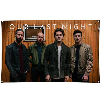 Our Last Night OLN - Band Promo Wall Flag
