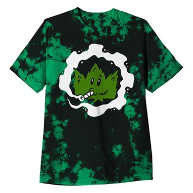 Crown The Empire CTE - 420 Custom Dyed Green Cog Tee