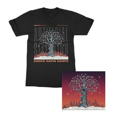 Dance Gavin Dance - Artificial Selection Pre-Order Tree Tee/CD Bundle