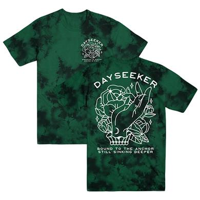 Dayseeker - Bound to the Anchor Emerald Dye Tee
