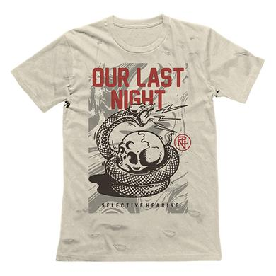 Our Last Night OLN - Distressed Snake Tee