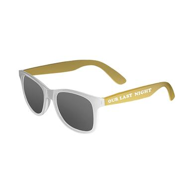Our Last Night OLN - White/Yellow Sunglasses