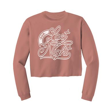 Our Last Night OLN - Mauve Cropped Crew Neck Sweater