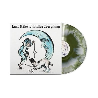 Mat Kerekes - Luna & the Wild Blue Everything Vinyl (White/Swamp Green)