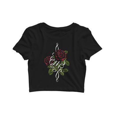 Palaye Royale - Roses Logo Crop Top