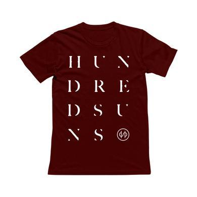HS - HUNDRED SUNS Maroon Tee