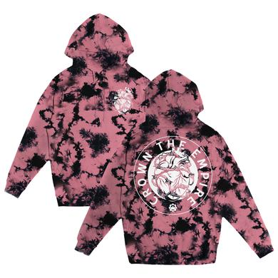 Crown The Empire CTE - Barbed Wire Heart Dyed Hoodie