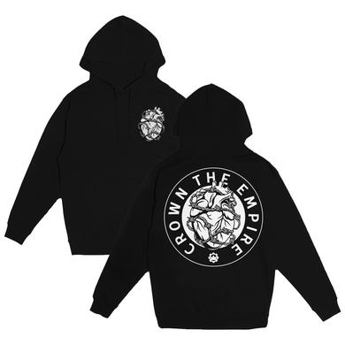 Crown The Empire CTE - Barbed Wire Heart Hoodie