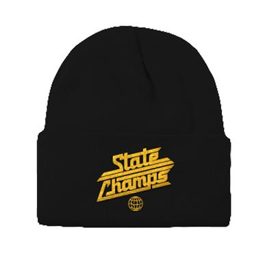 State Champs SC - Around The World Logo Beanie (Blk/Gld)