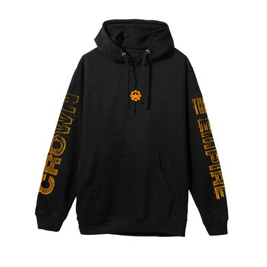 Crown The Empire CTE - Orange Cog Hoodie