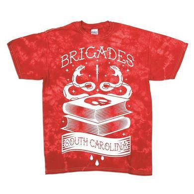 Brigades - Red Tie Dye Tee