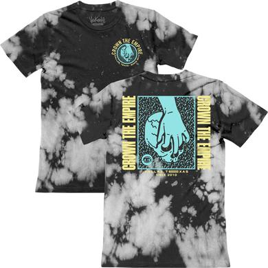 Crown The Empire CTE - Blue & Yellow Skull Dye Tee