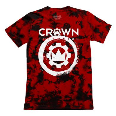 Crown The Empire CTE - Custom Dyed Red Cog Tee