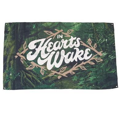 In Hearts Wake IHW - Earthwalker Wall Flag