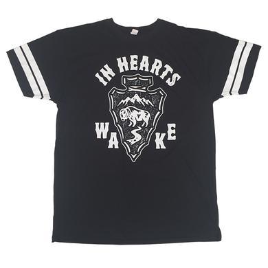 In Hearts Wake IHW - Custom Sleeve Arrowhead Tee