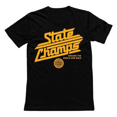 State Champs SC - Around The World Black Tee