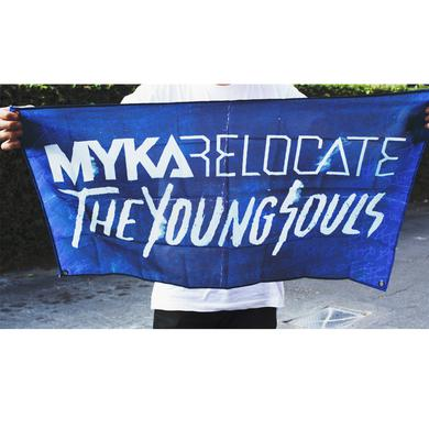 Myka Relocate MR - The Young Souls Wall Flag