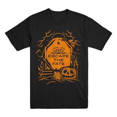 Escape The Fate Here Lies ETF Black Tee