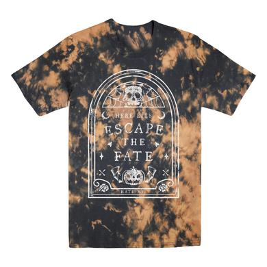 Escape The Fate Here Lies ETF Bleached Glow Tee