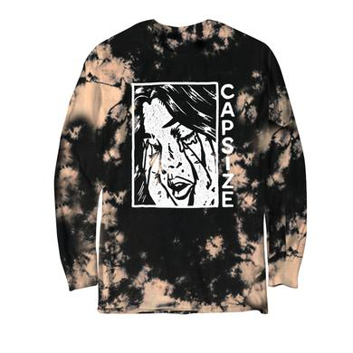 """CAPSIZE - """"Cry"""" Long Sleeve Bleached Dye"""