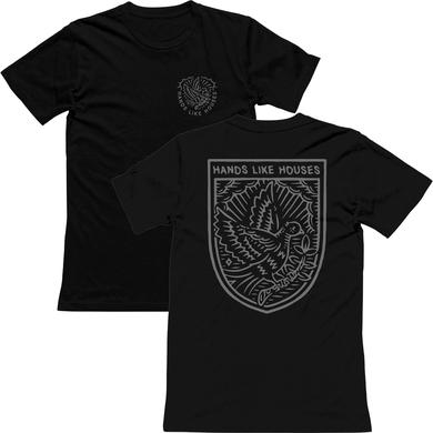 Hands Like Houses HLH - Dove Tee (Black)