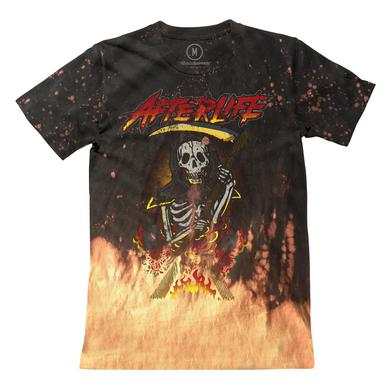 Afterlife - Bleached Reaper Tee