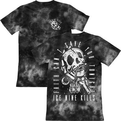 ICE NINE KILLS INK - Grey Dye Faith Tee