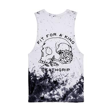 FIT FOR A KING FFAK - Deathgrip Speckled Cutoff Tank