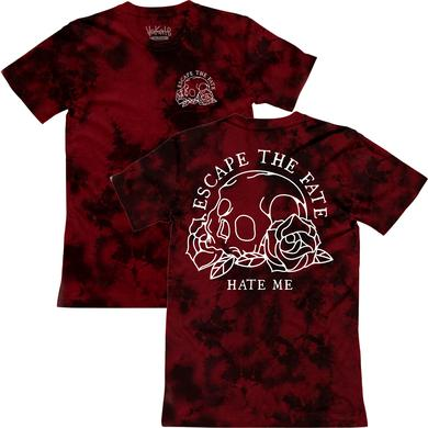 Escape The Fate ETF - Hate Me Red Dyed Tee