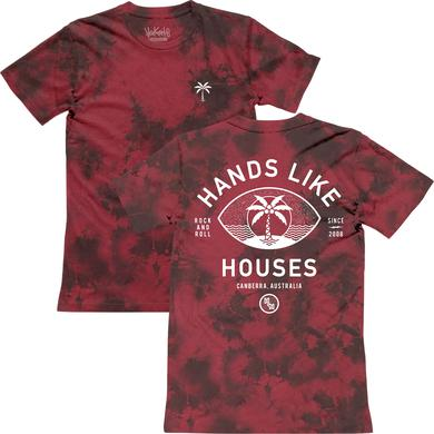 Hands Like Houses HLH - Limited Dyed Palm Tee