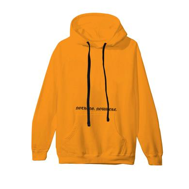 Nothing, Nowhere gold cemetery hoodie