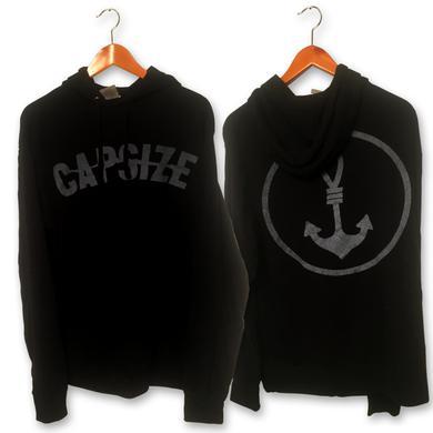 Capsize Grey Logo Hoodie