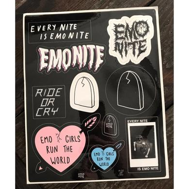 Emo Nite Sticker Sheets