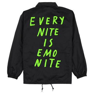 Emo Nite Black/Lime Green ENIEN Coach Taylor Jacket