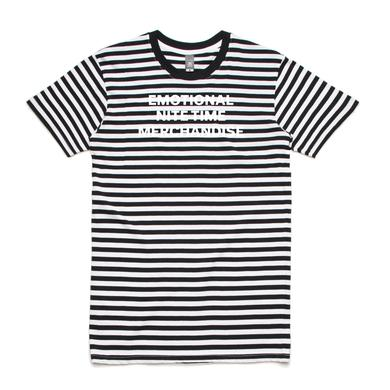 Emo Nite Emotional Nite Time Striped Tee