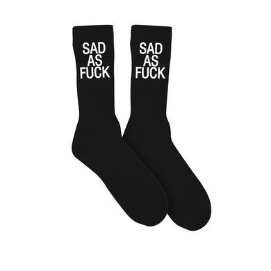 Emo Nite Sad As Fuck Socks