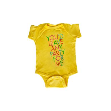 Feist You'd Leave Any Party For Me Baby Onesie