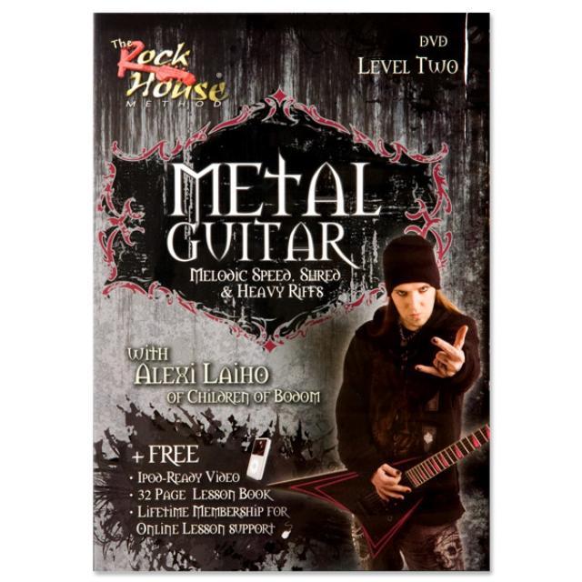 Children of Bodom Metal Guitar DVD