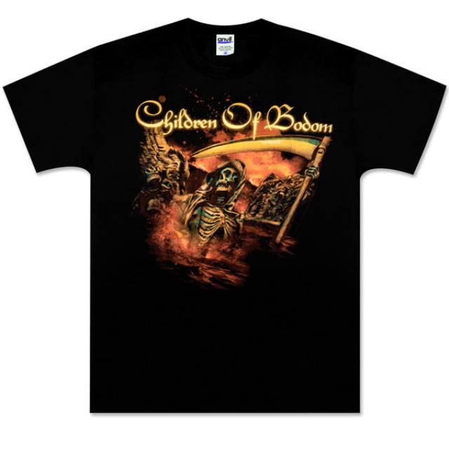 Children of Bodom Ledge Black Tee