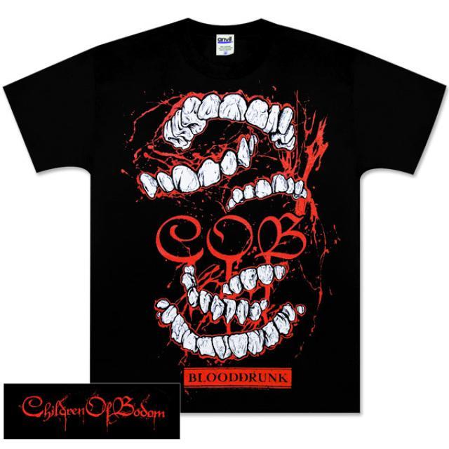 Children of Bodom Teeth Black Tee